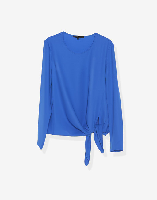 Shirt blouse Zedna contemporary blue