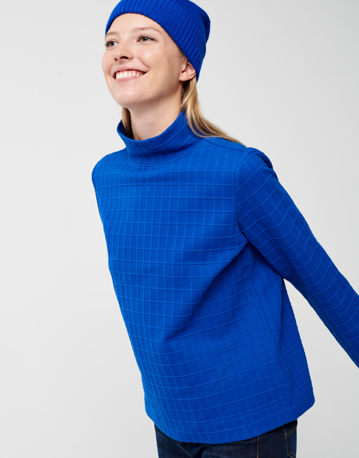 Boxy-Shirt Uriya contemporary blue