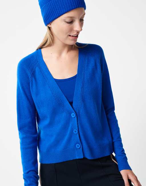 Strickjacke Terri contemporary blue