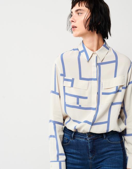 Bluse Zaim SQ 2 contemporary blue