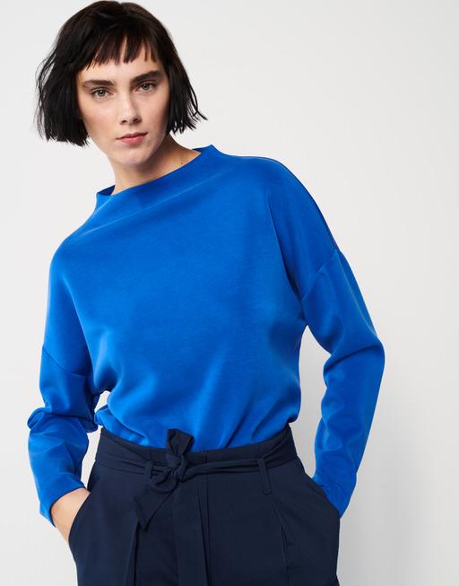 Boxy-Shirt Upita contemporary blue