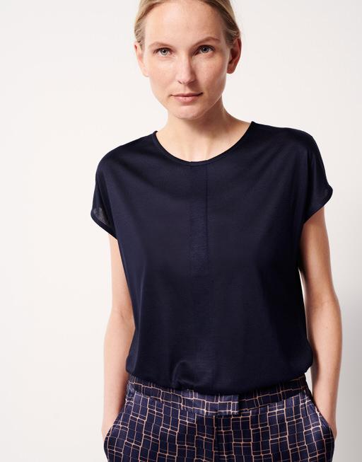 T-Shirt Kusana bold blue