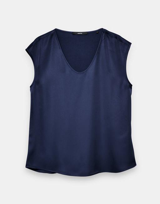 Shirt blouse Zadira bold blue