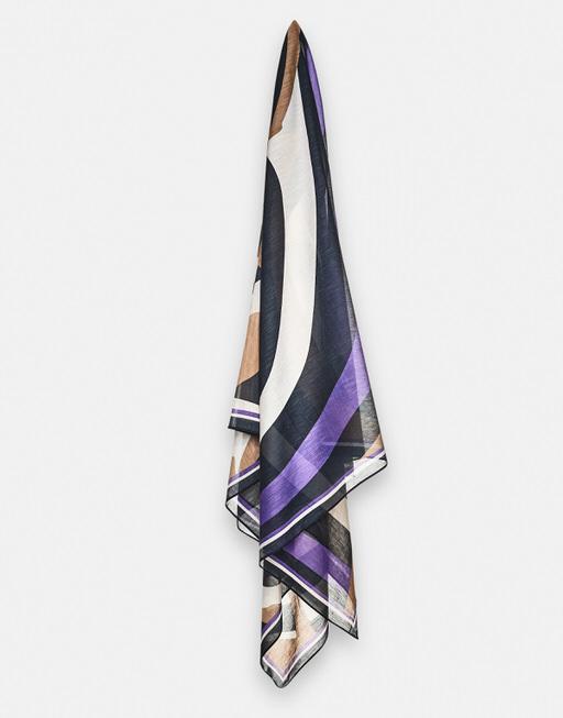 Lightweight scarf Babida scarf bold blue