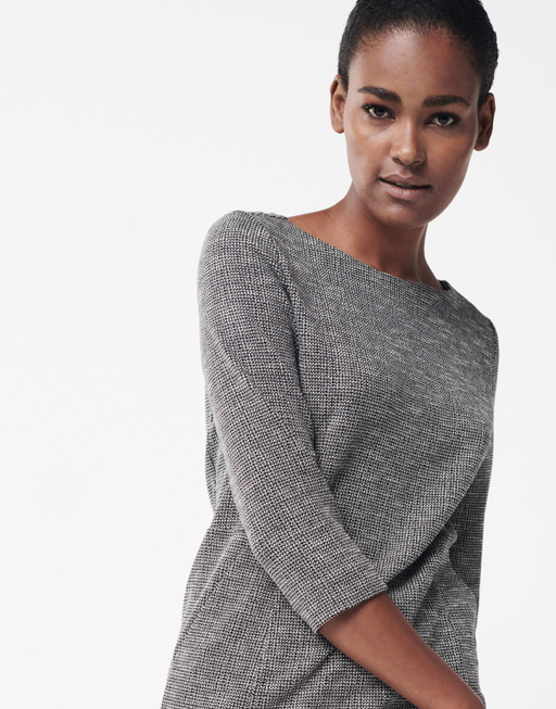 Etuikleid Qualda carbon  slate grey melange