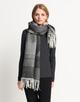 Schal Bronja scarf slate grey melange
