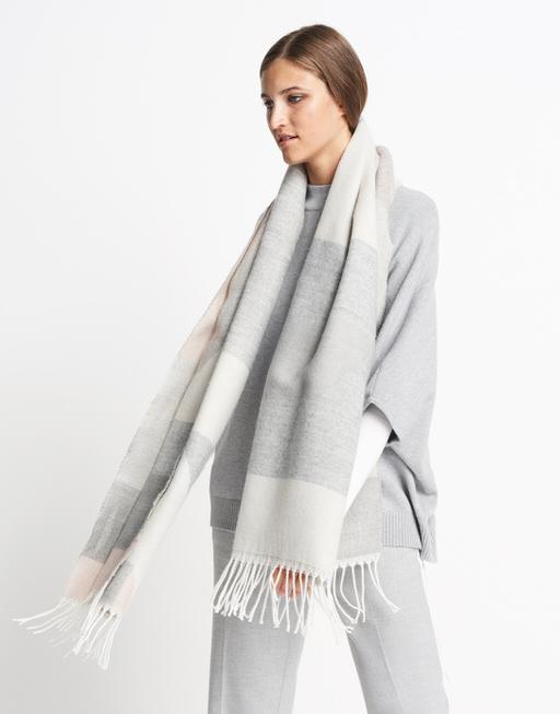 Schal Bronja scarf hazy fog melange