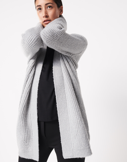 Online Someday Your Favourites Knitted Shop By Cardigan Thais Grey UIqwwxH8CR