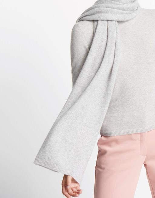 kaschmir schal baalath scarf grau online bestellen someday online shop. Black Bedroom Furniture Sets. Home Design Ideas