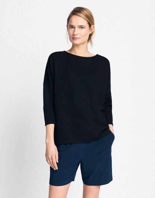 Boxy Shirt Kamill black