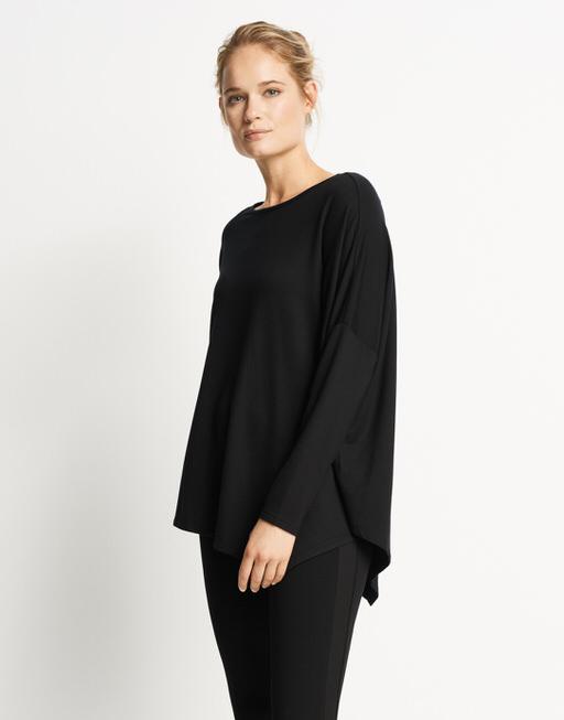 Oversize-Shirt Umeka  black