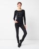 Motiv Shirt Kamsadi print black