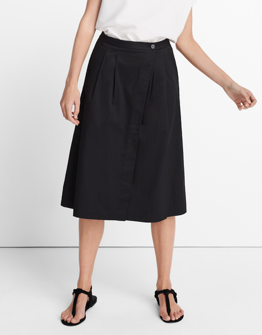 Midi skirt Obelo  black