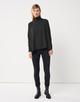 Oversize Bluse Zandra  black