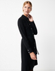 Blusenkleid Qenco black