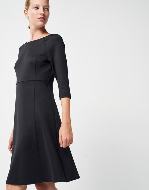 Kleid Qesra black