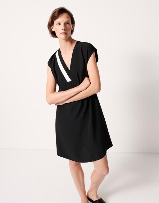 Shirtkleid Quemilia black